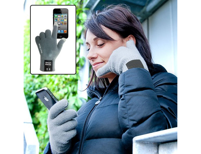 Smart Gloves - Bluetooth Headset Gloves