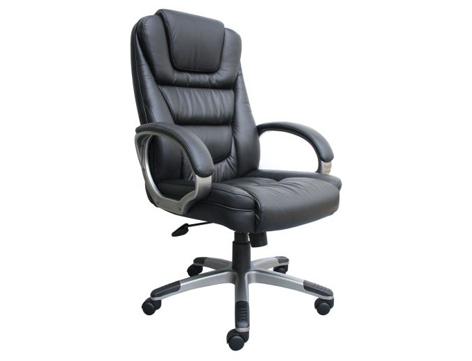 Boss B8601 LeatherPlus Computer Chair