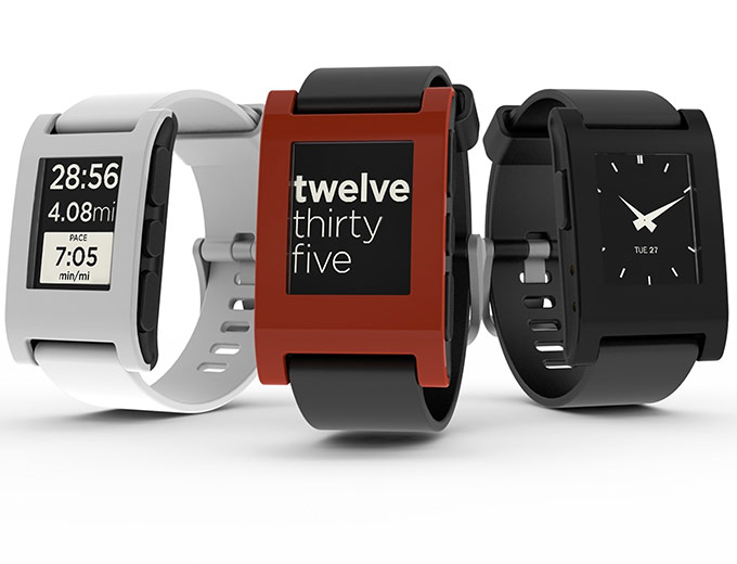 Pebble Smartwatch for iPhone & Android