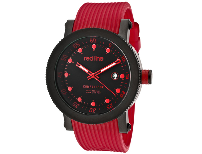 Red Line Compressor Men's Watch