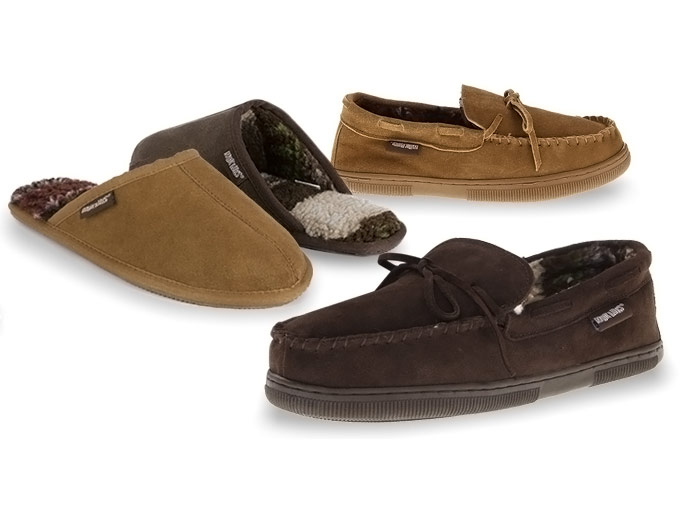 MUK LUKS Men's Suede Scuffs or Clogs