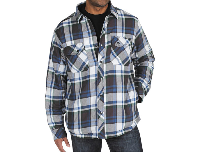ExOfficio's Pocatello Plaid Shirt Jacket