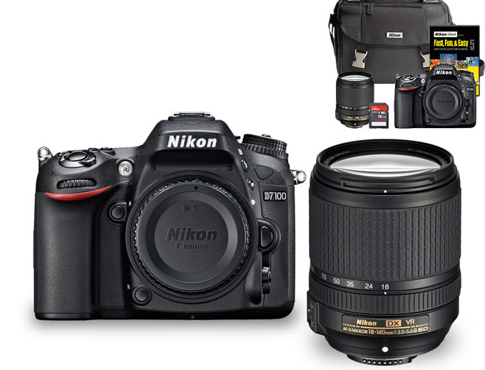 Nikon D7100 24.1MP Camera Package