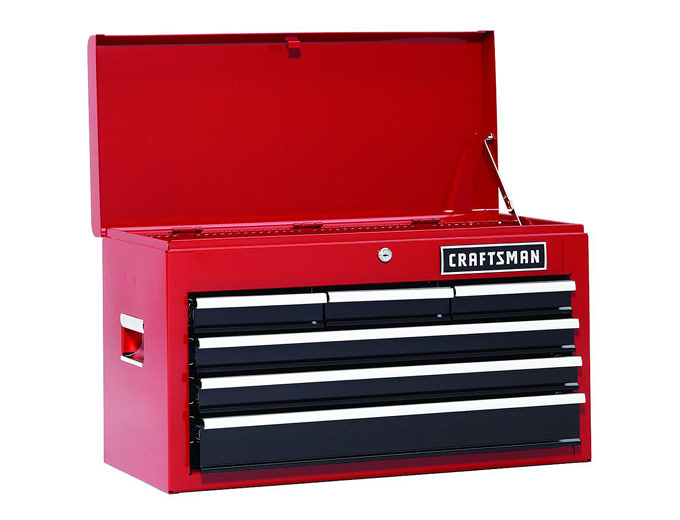 75 Off Craftsman 26 Quot 6 Drawer Heavy Duty Top Tool Chest