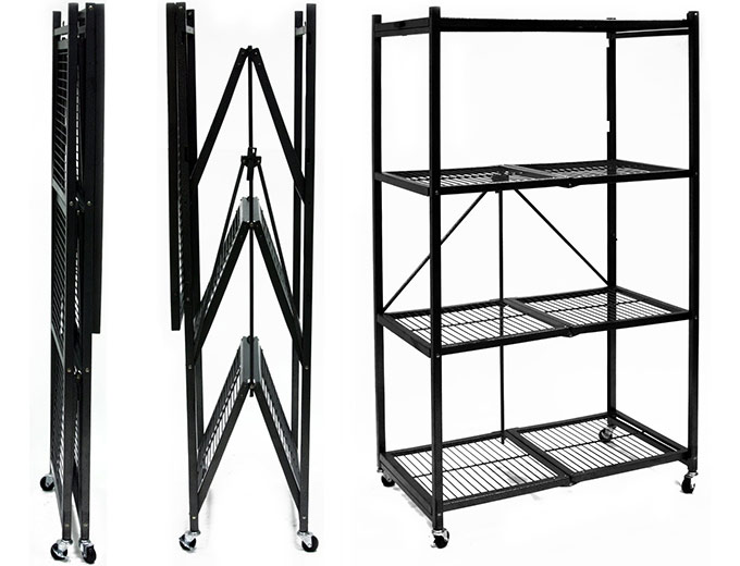 Origami 4-Shelf Steel Storage Rack