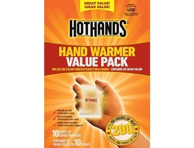 Hot Hands 10 Pair Value Pack