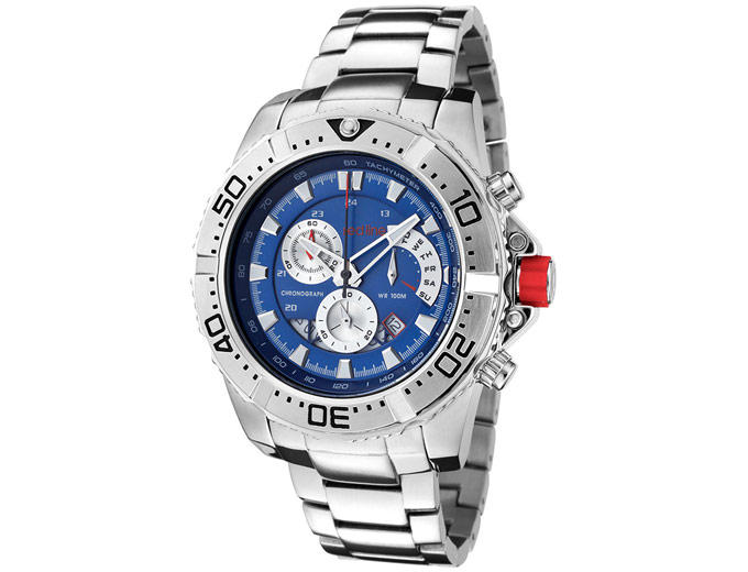 Red Line Stainless Steel Men's Watch