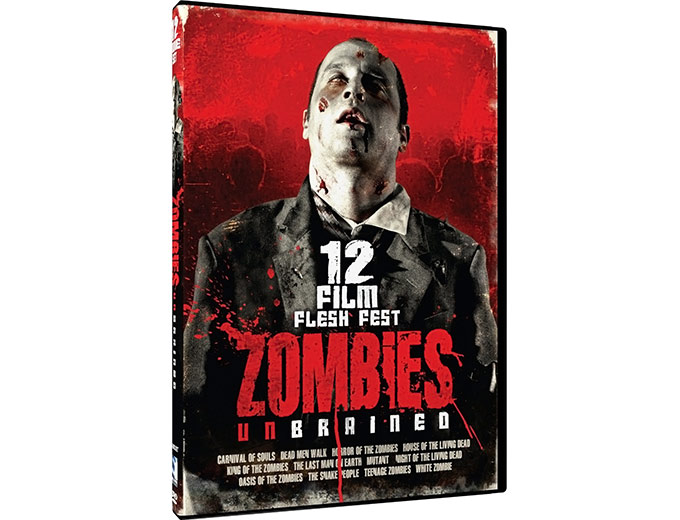 Zombies Un-Brained 12 Film Flesh Fest DVD