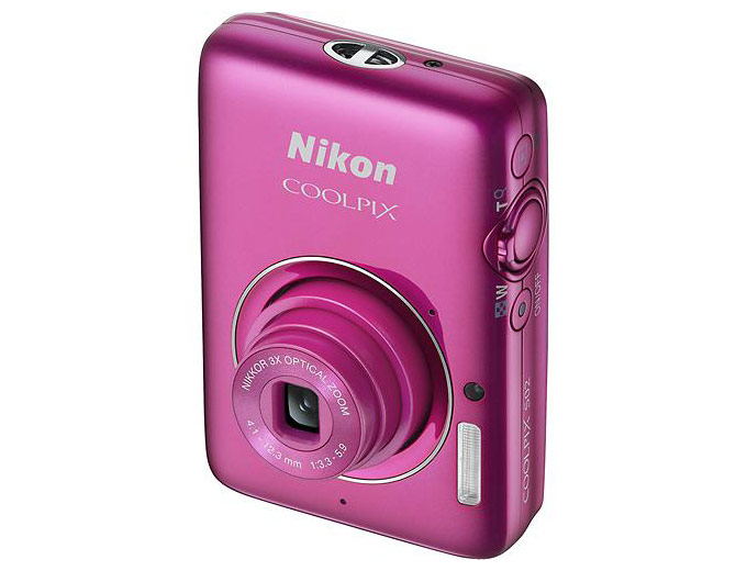 Nikon Coolpix S02 Pink 13.2-MP Camera