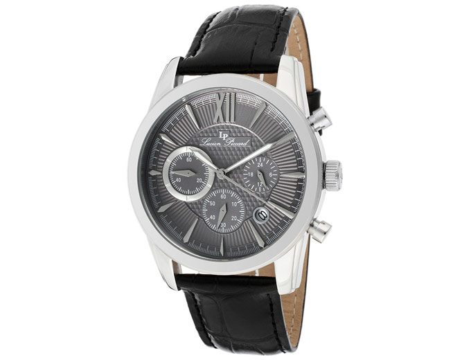 Lucien Piccard Mulhacen Leather Watch