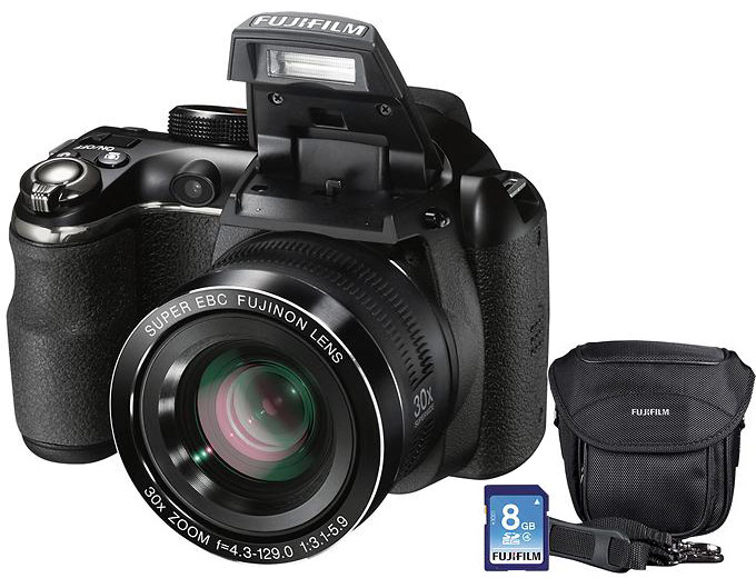 Fujifilm FinePix S4830 16.0-MP Camera Kit
