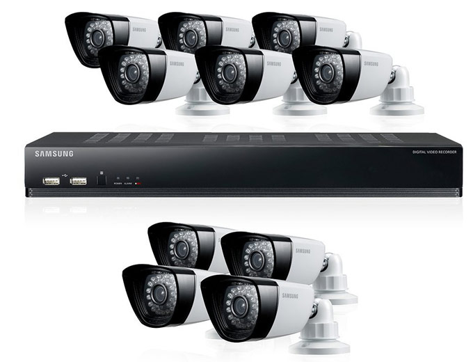 Samsung SDS-P5101N DVR Security System