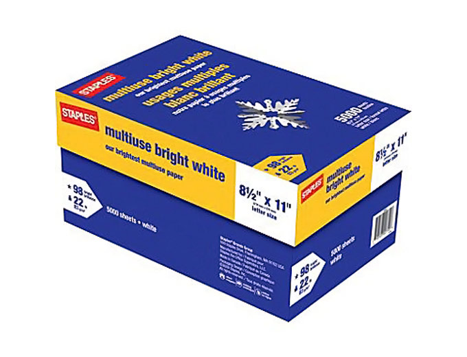 staples multipurpose paper Through 8/6, head to staples in-store only, and score with coupon after easy rebate  if you haven't done this deal before, check out my which explains how to through 8/6, head to staples in-store only, and score $001 printer paper with coupon after easy rebate.