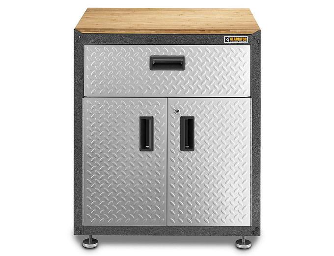 $122 off Gladiator Modular GearBox Floor Cabinet GAGB28KDYG, $129 ...