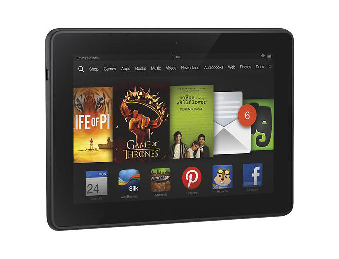 32GB Kindle Fire HDX, Wi-Fi + 4G LTE
