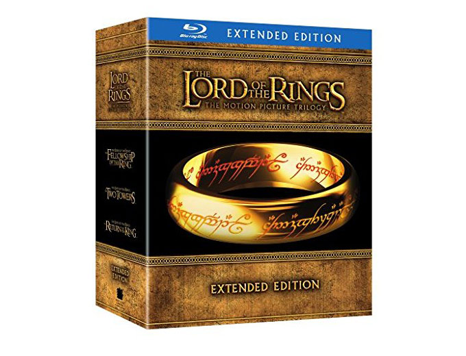 The Lord of the Rings: Trilogy Blu-ray