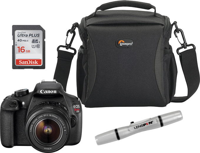 Canon EOS Rebel T5 18.0MP DSLR Camera Kit