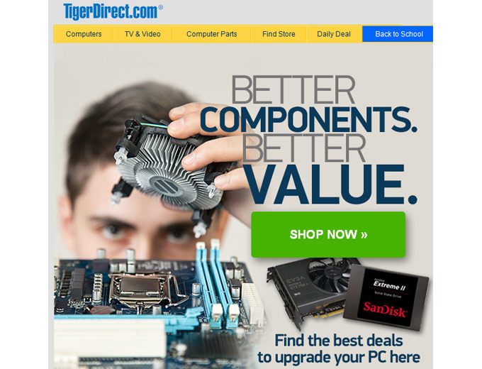 Tiger Direct - Great Deals Computer Accessories
