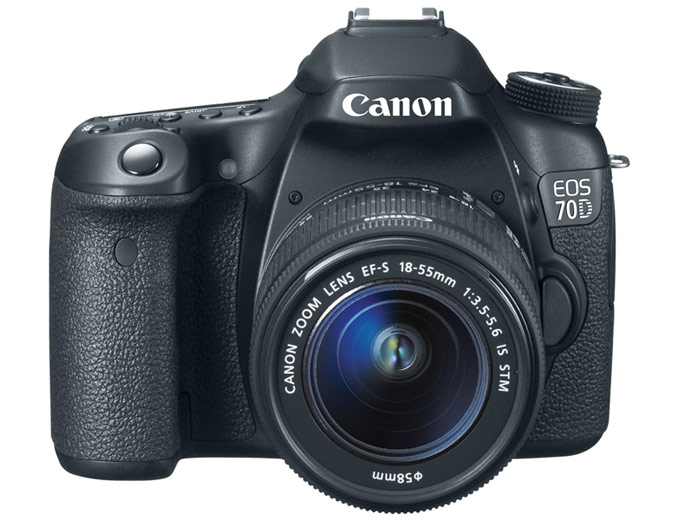 Canon EOS 70D Digital SLR Camera & Lens