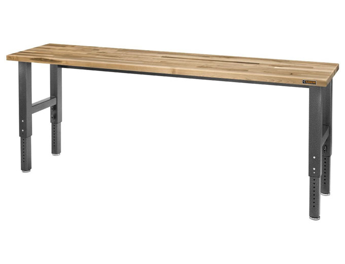 224 Off Gladiator Gawb08mtzg 8 39 Adj Height Maple Work Bench 379