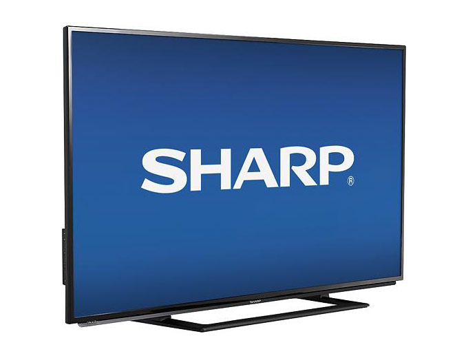 "$200 off Sharp LC-50LB261U 50"" LED HDTV, $399 + Free Shipping"
