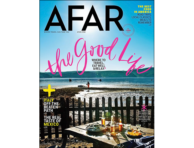 AFAR Travel Magazine Subscription