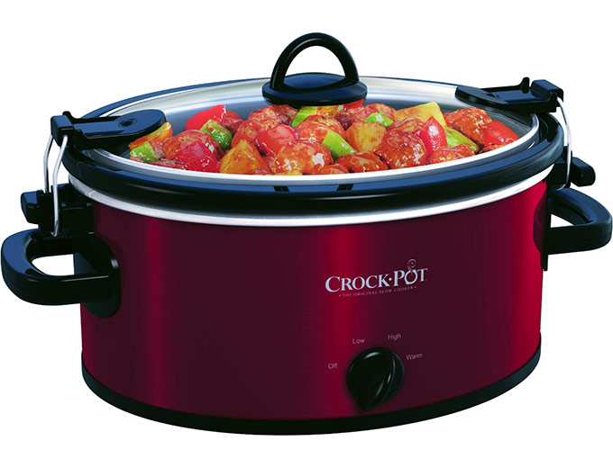Crock-Pot Cook and Carry 4Qt Slow Cooker