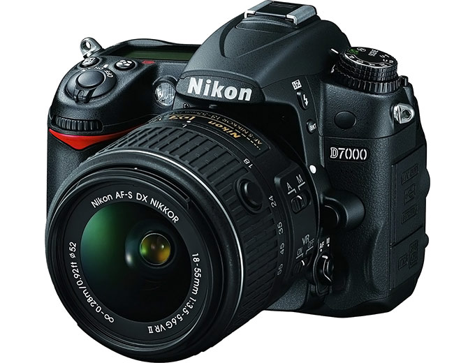 Nikon D7000 Digital SLR Camera w/ 18-55mm Lens