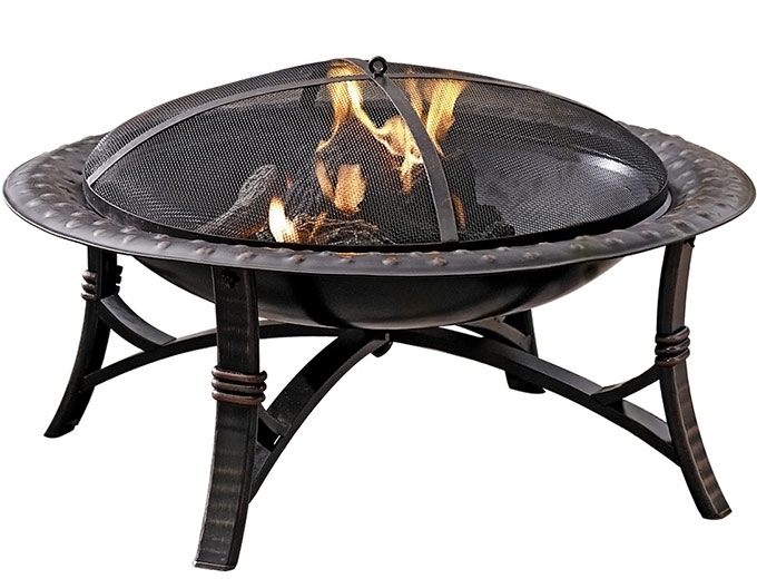 "35"" Steel Wood-Burning Fire Pit"