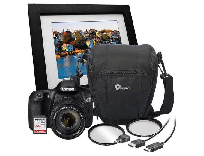 Canon EOS 60D DSLR Camera Bundle Kit