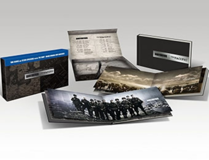 Band of Brothers/The Pacific Blu-ray