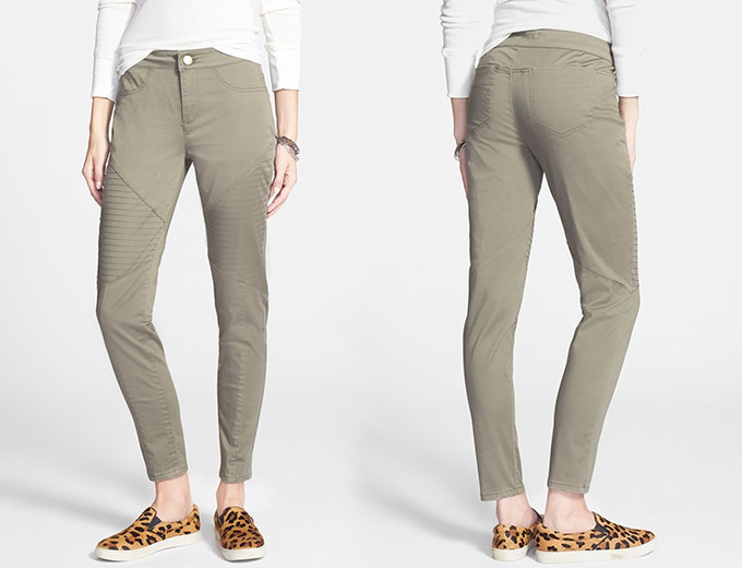 Fire Quilted Skinny Pants