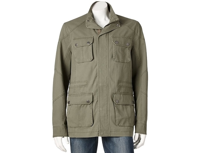 Marc Anthony Slim-Fit Military Jacket