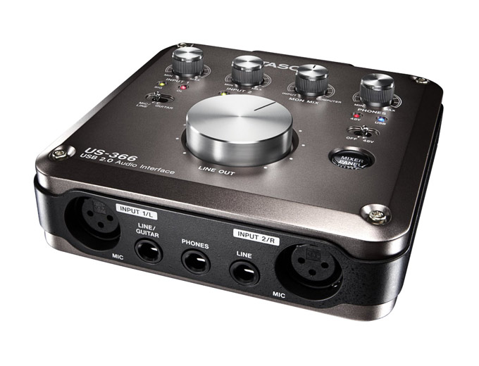 TASCAM US-366 USB Audio Interface