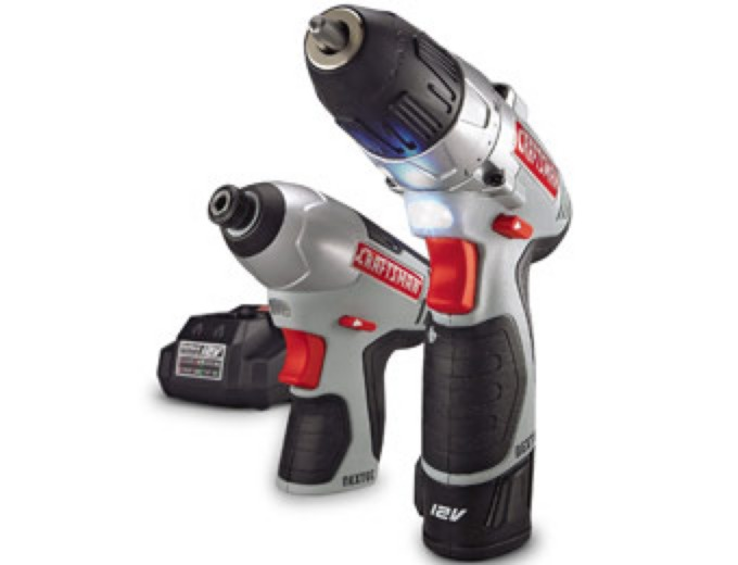 Craftsman Lithium-Ion Drill & Impact Combo Kit