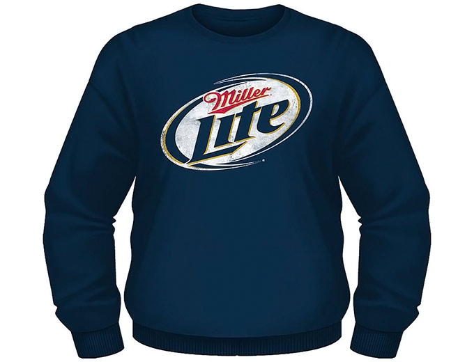 Miller Lite Men's Fleece Crew