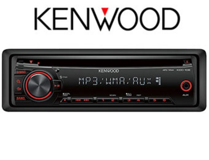 Kenwood KDC-108 In-Dash CD Deck