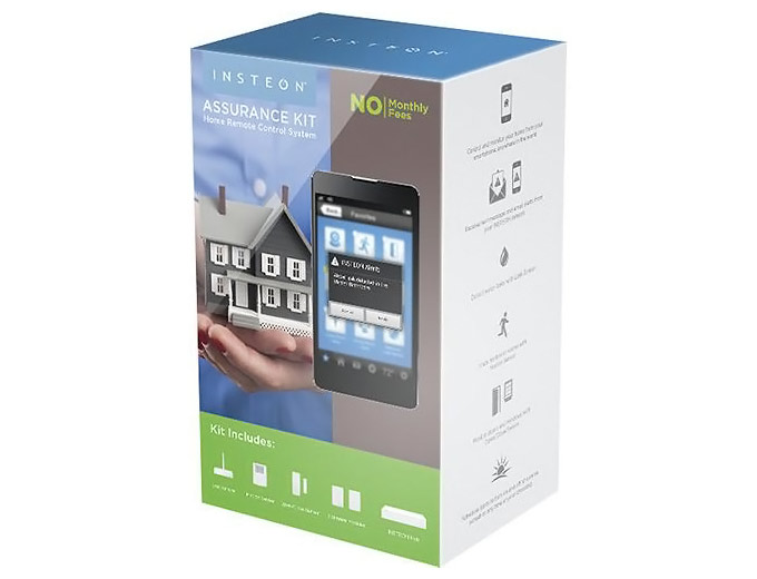 100 off insteon 2522 232 assurance home automation starter kit 99 shipped. Black Bedroom Furniture Sets. Home Design Ideas
