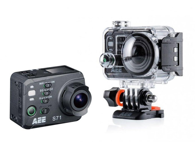 AEE S71 Ultra HD 4K Action Camera w/ Case