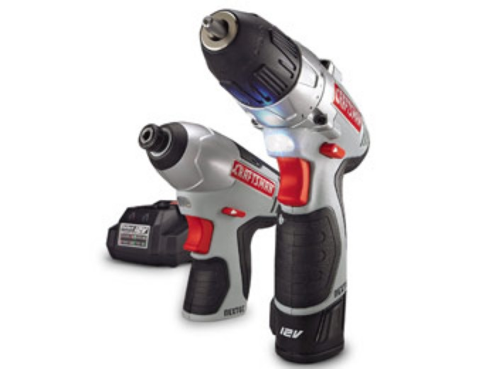 Craftsman 12 Volt Lithium-Ion Drill and Impact Combo Kit