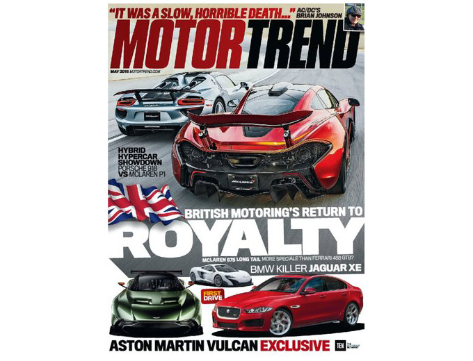 Motor Trend Magazine Annual Subscription