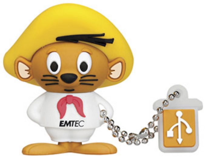 EMTEC Looney Tunes Speedy Gonzalez 4GB Flash Drive