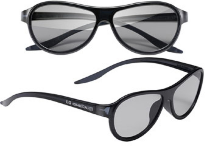 LG AG-F310 Cinema 3D Glasses