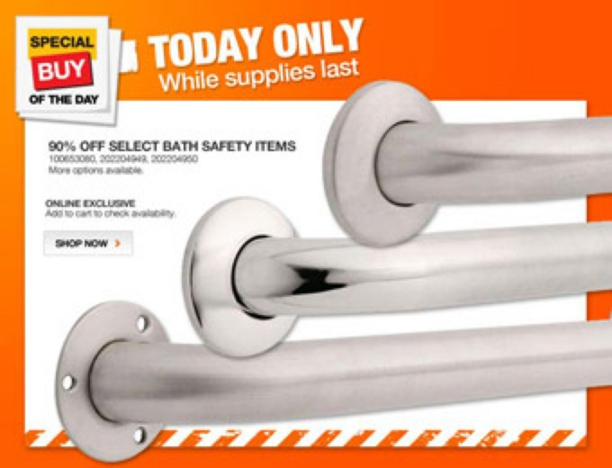 Select Bath Safety Systems & Rails