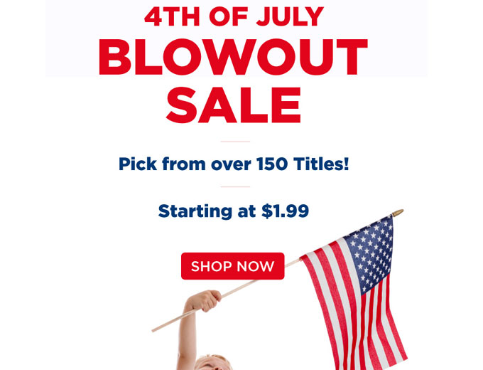 DiscountMags July 4th Blowout Sale