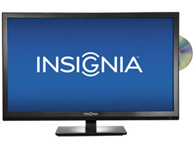 "Extra $20 off Insignia 24"" HDTV / DVD Player"