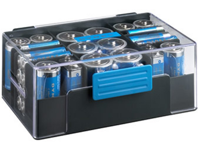Dynex 42-Pack Batteries and Box