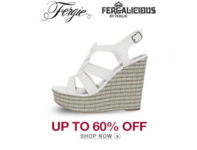 6de94baaf36b 60% off Fergie Fergalicious Women s Shoes + Free Shipping