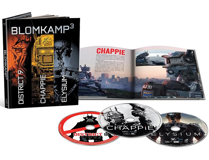 Blomkamp Limited Edition Collection Blu-ray