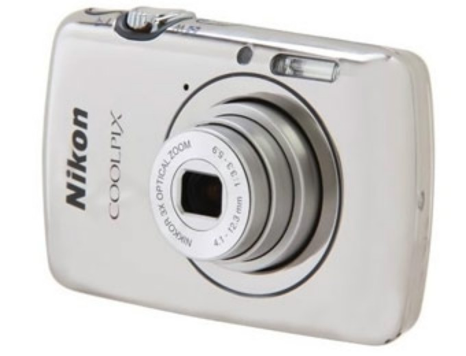 Nikon Coolpix S01 10.1MP Digital Camera
